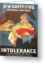 Intolerance Greeting Card by Georgia Fowler