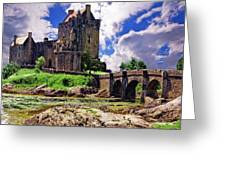 Inverlochy Castle Greeting Card by Wendy White