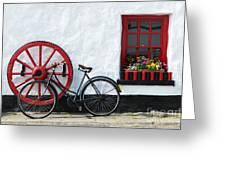 Irish Pub Greeting Card by Andrew  Michael