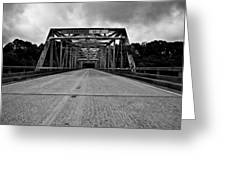 Iron Bridge Mississippi Greeting Card by Bryan Burch