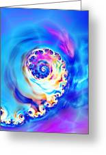 Irridescence Greeting Card by Sharon Lisa Clarke