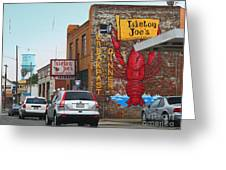 Isleton Joes Restaurant And Saloon In Isleton California Greeting Card by Wingsdomain Art and Photography