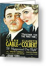 It Happened One Night Greeting Card by Nomad Art And  Design