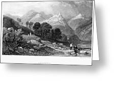 Italy: Licenza, 1833 Greeting Card by Granger