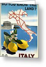 Italy Greeting Card by Georgia Fowler