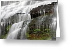 Ithaca Falls Closeup Greeting Card by Jeff Bord