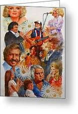 Its Country 1 Greeting Card by Cliff Spohn