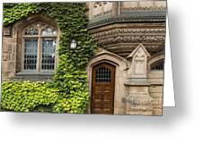 Ivy League Princeton Greeting Card by John Greim