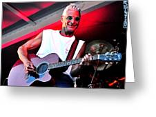 Jack Bordo With Old Friends Band Reunion 2010 Greeting Card by Mary Frances