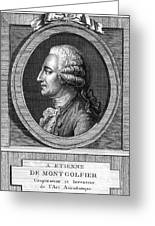 Jacques-�tienne Montgolfier, French Greeting Card by Photo Researchers