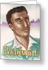 James Baldwin Greeting Card by Whitney Morton