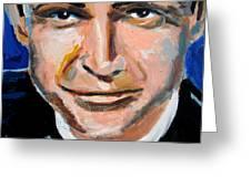 James Bond  Greeting Card by Jon Baldwin  Art
