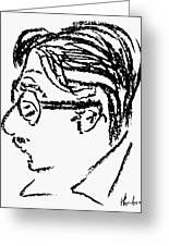 James Grover Thurber Greeting Card by Granger