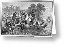 Jamestown: Women Greeting Card by Granger