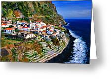 Jardim Do Mar Greeting Card by Dean Wittle