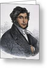 Jean-francois Champollion Greeting Card by Granger