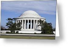 Jefferson Memorial - Washington Dc Greeting Card by Brendan Reals