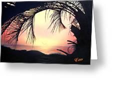Jekyll Island Sunrise Greeting Card by Karen Casciani