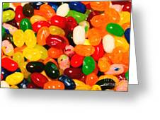 Jelly Belly - Painterly Greeting Card by Wingsdomain Art and Photography