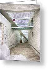 Jepson Center Grand Staircase Greeting Card by Lynn Palmer