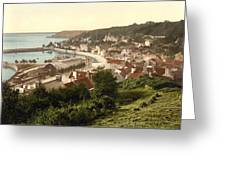 Jersey - Saint Aubins - Channel Islands - England Greeting Card by International  Images