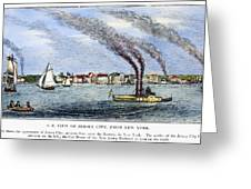 Jersey City, 1844 Greeting Card by Granger