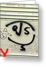 Jesus On The Bus Greeting Card by Joe Jake Pratt