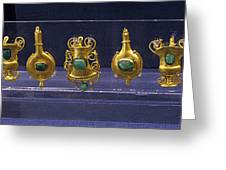 Jewellery With Gems Greeting Card by Andonis Katanos