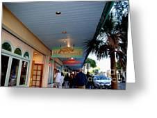 Jimmy Buffet's Margaritaville Key West Greeting Card by Susanne Van Hulst
