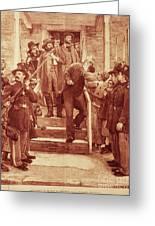 John Brown: Execution Greeting Card by Granger
