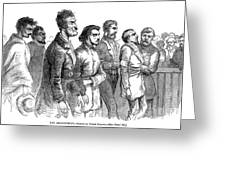John Brown Trial, 1859 Greeting Card by Granger