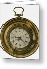 John Harrisons Last Marine Timepiece Greeting Card by Science Source