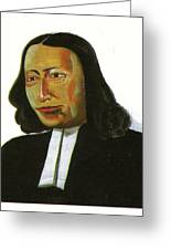 John Wesley Greeting Card by Emmanuel Baliyanga