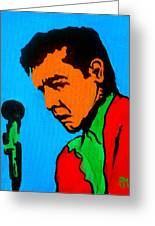 Johnny Pop II Greeting Card by Pete Maier
