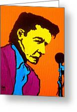 Johnny Pop IIi Greeting Card by Pete Maier