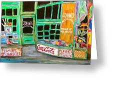 John's Restaurant Greeting Card by Michael Litvack