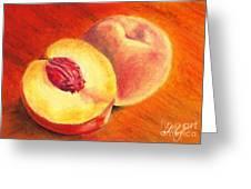 Juicy Fruit Greeting Card by Iris M Gross