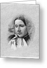 Julia Ward Howe (1819-1910) Greeting Card by Granger