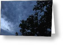 June Apple Trees In The Clouds Greeting Card by Charles Dancik