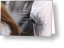 Just Friends Greeting Card by Travis Truelove