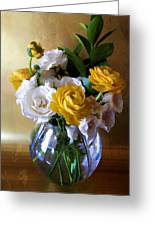 Just To Say Thank You Greeting Card by Julie Palencia