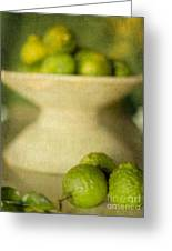 Kaffir Limes Greeting Card by Linde Townsend