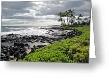 Kauai Afternoon Greeting Card by Robert Meyers-Lussier