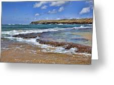 Kauai Beach 2 Greeting Card by Kelley King