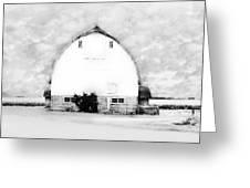 Kays Barn Greeting Card by Julie Hamilton