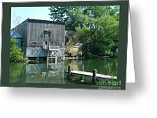 Keuka Lake Outlet-ii Greeting Card by Patricia Overmoyer