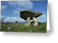 Kilclooney, Co Donegal, Ireland Dolmen Greeting Card by The Irish Image Collection