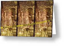Kill The Buddha Greeting Card by Skip Nall