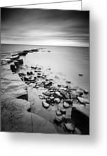 Kimmeridge Bay Greeting Card by Nina Papiorek