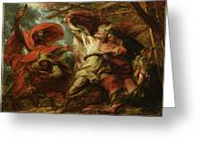 King Lear Greeting Card by Benjamin West